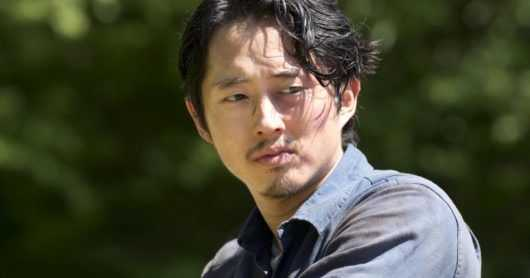 Steven Yeun en The Walking Dead