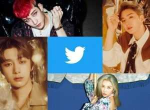 Sunmi, Monsta X y Stray Kids en Twitter Blueroom