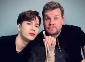 Jackson Wang y James Corden